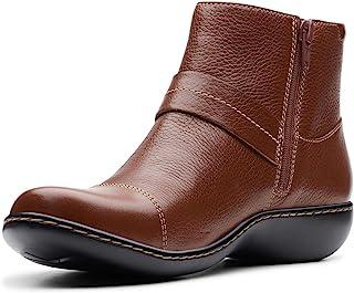 حذاء حريمي Ashland Pine من Clarks أسمر ضارب للصفرة