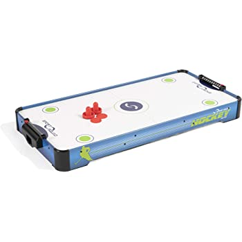 Sport Squad HX40 40 inch Table Top Air Hockey Table for Kids and Adults - Electric Motor Fan