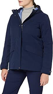 Jack Wolfskin Lake Louise Veste Jacket, Midnight Blue, XXL Womens