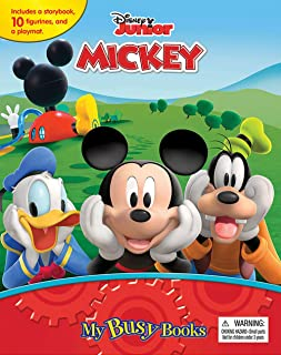 Phidal - Disney Mm Clubhouse My Busy Book - Multi Color