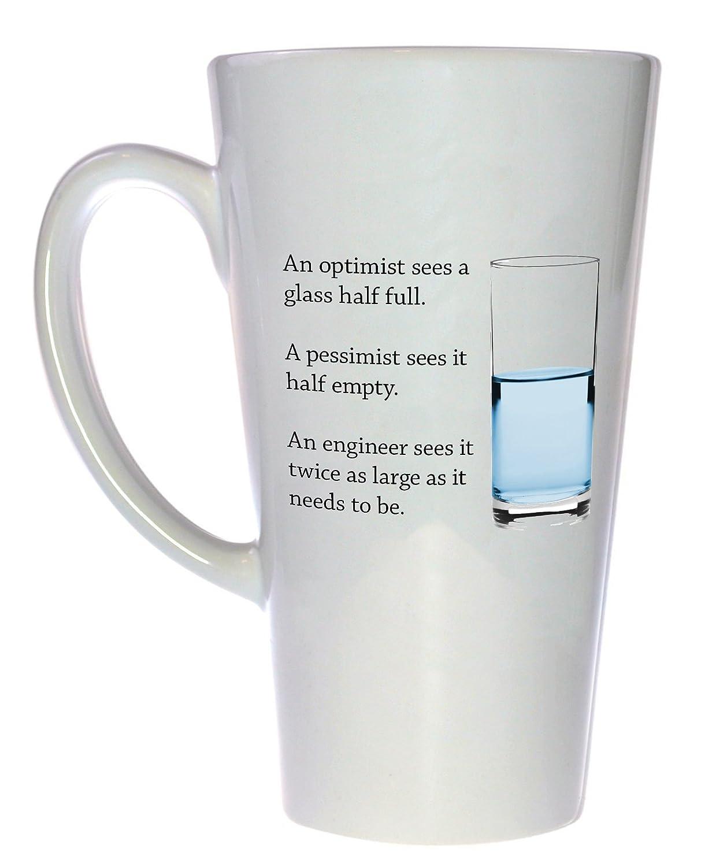 Engineer's Glass of Water sale Max 76% OFF Tall Coffee Mug or Tea