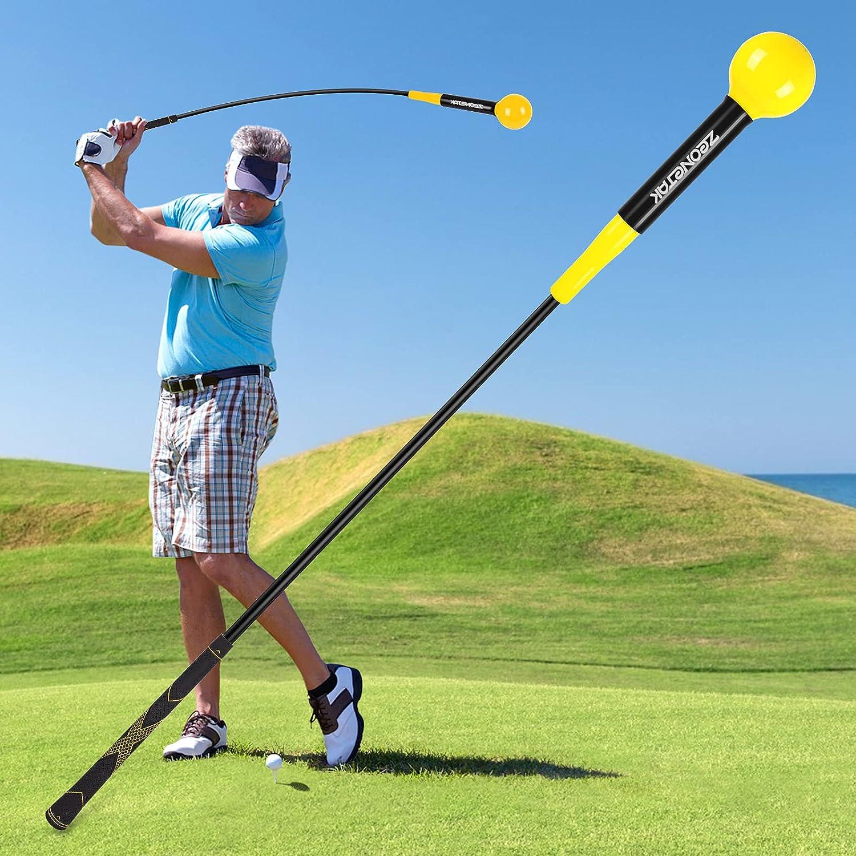 Zeonetak Golf Swing Trainer Aid Rhythm 5 ☆ very Popular brand popular for Improving Flexibility
