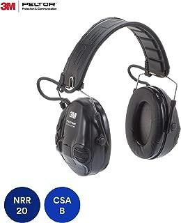 Peltor MT16H210F-479-SV Tactical Sport Headset Black 1/Case