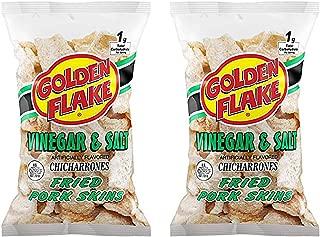Golden Flake Vinegar & Salt Fried Pork Skins, 3.5 oz