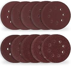 Rovtop Discos de Lijado Papel Abrasivo con Velcro 125 mm 70