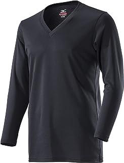 [Mizuno] ブレスサーモ アンダーウェア(デイリー用・薄手) Vネック長袖シャツ C2JA8610 メンズ