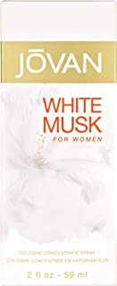 Jovan White Musk for Women Cologne Concentrate Spray, 2...