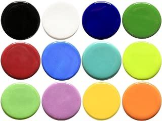 Amaco Teacher's Palette Glaze Classroom Pack 5, Pints, Assorted Colors, Set of 12
