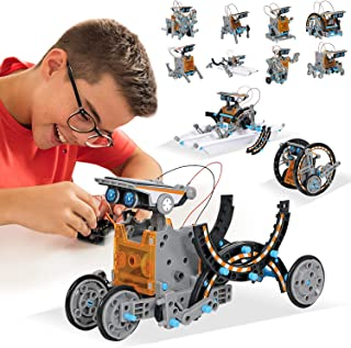 Juguetes STEM Kit de Tobot Solar Kits de Ciencia Educativa 12 en 1 Aprendizaje de Ciencia Juguetes de Construcción Aliment...