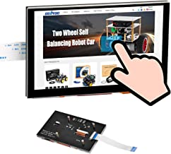 OSOYOO 5 Inch DSI Touch Sceen LCD Display 800x480 for Raspberry Pi 4 B 3 Model B+ 2   Capacitive Finger Touchscreen   Plug...