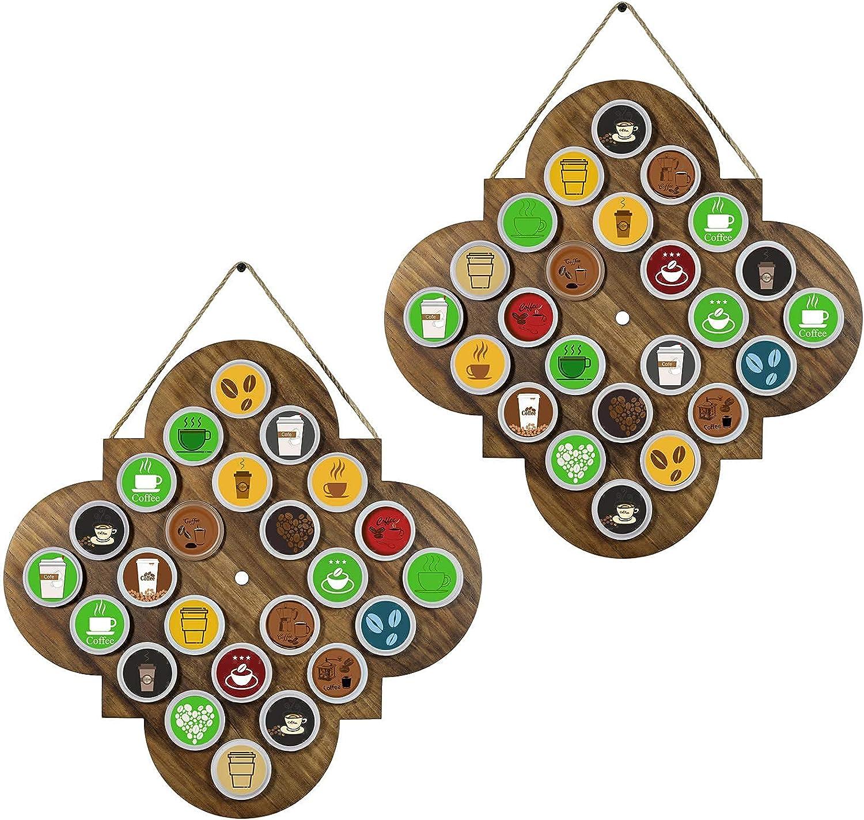 TJ.MOREE Quatrefoil Max 78% OFF K Cup Holder-Coffee Holder Oklahoma City Mall Gifts- Pod Coffee