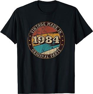 Né en 1984 - Pièces d'origine - Anniversaire Retro Vintage T-Shirt