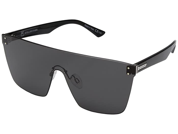 VonZipper Alt-Donmega (Black Gloss/Grey) Sport Sunglasses