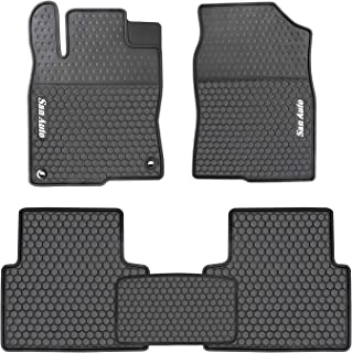 2018 honda civic rubber floor mats