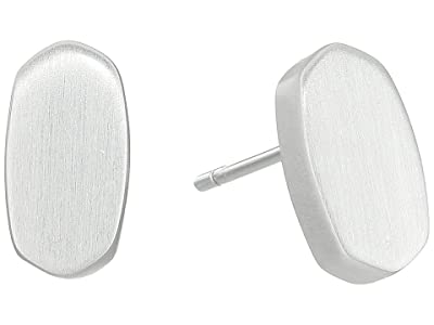 Kendra Scott Barrett Earrings (Bright Silver) Earring
