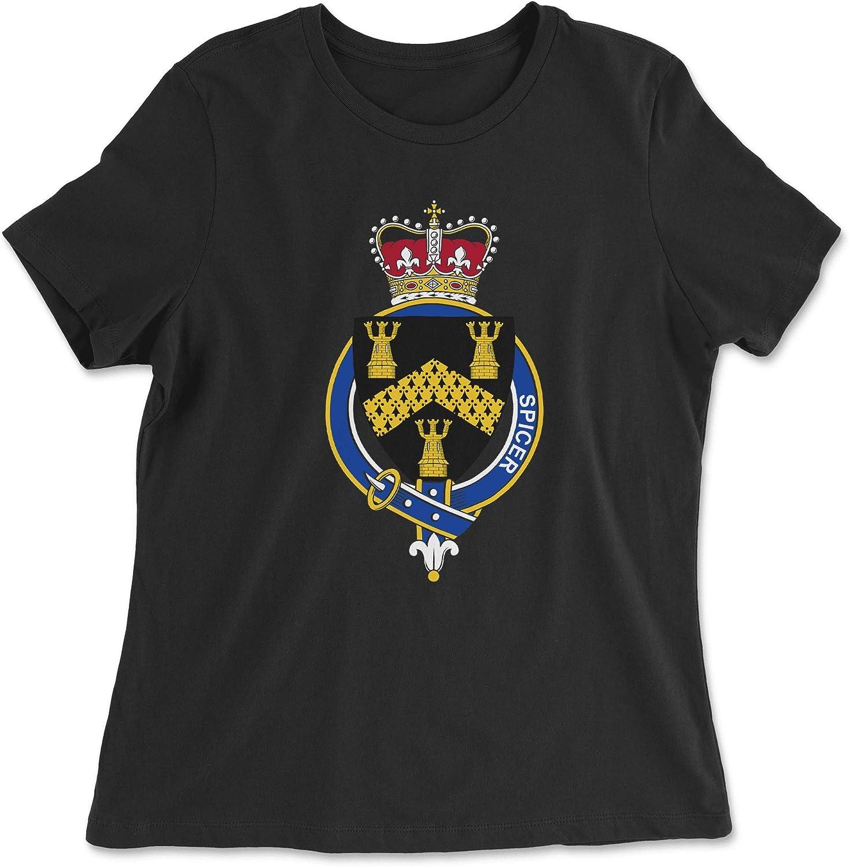 HARD EDGE DESIGN Women's English Garter Family Spicer T-Shirt