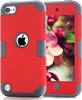 Case for iPod 7 6 5 Cases for iPod Touch 6th Generation Case for iPod 5 Cases, Dual..