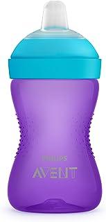 Philips Avent Soft, bitsäker pipmugg SCF802/01 - 1 mugg - Rymmern 300 ml - 9m+ - Lätt att greppa - Lätt att montera - BPA-...