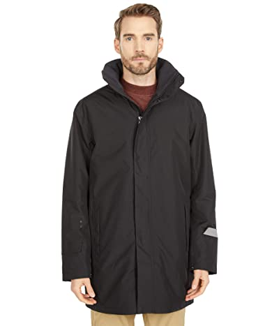 Helly Hansen Dubliner Insulated Long Jacket (Black) Men