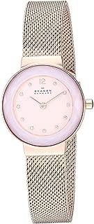 Skagen Women's Quartz Watch analog Display and Stainless Steel Strap, SKW2768
