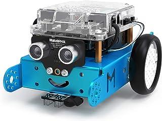 Makeblock mBot Robot Kit, DIY Mechanical Building Blocks, Entry-level Programming Helps Improve Children' s Logical Thinki...