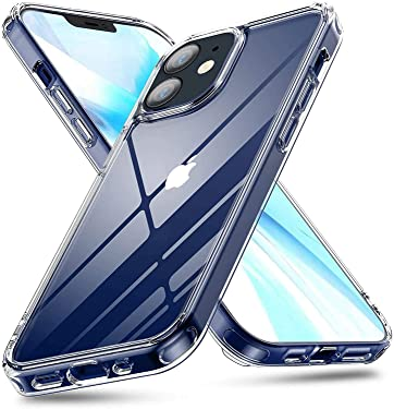 CELZO 4 Side Full Protection Back Cover Case for Apple iPhone 12 (6.1) (Transparent)