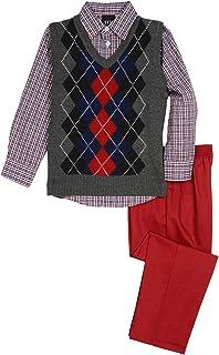 TFW Dresswear Little Boys' Sweater Vest Set