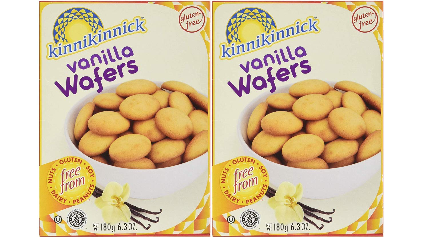 Gluten-Free Vanilla Wafer Cookies Delicious New York Mall Ounces Sales 12.7 Dairy-Fr