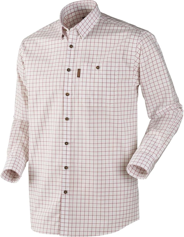 Harkila Stenstorp Shirt Bright port check Large Brown