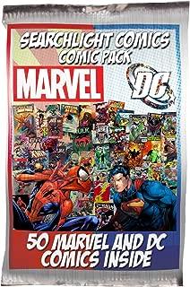 Searchlight Comics 50 Comic bundle with 25 Marvel and 25 DC Comics