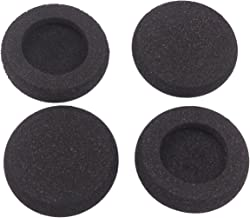 Bingle Ear Cushions Foam Replacement for Plantronics Supra Plus Encore and Most Standard Size Office Telephone Headsets H251 H251N H261 H261N H351 H351N H361 H361N (4 Pack)(BEC-FM4)