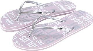 Miniso Women's Letter Series Flip Flops L 39/40 6941501516222