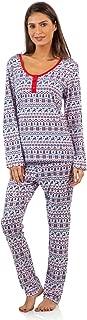 BedHead Pajamas BHPJ Women's Soft Knit Henley Shirt Pajama Set