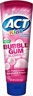ACT Kids Bubblegum Blowout Toothpaste, 4.6 Ounce (Pack of 24)