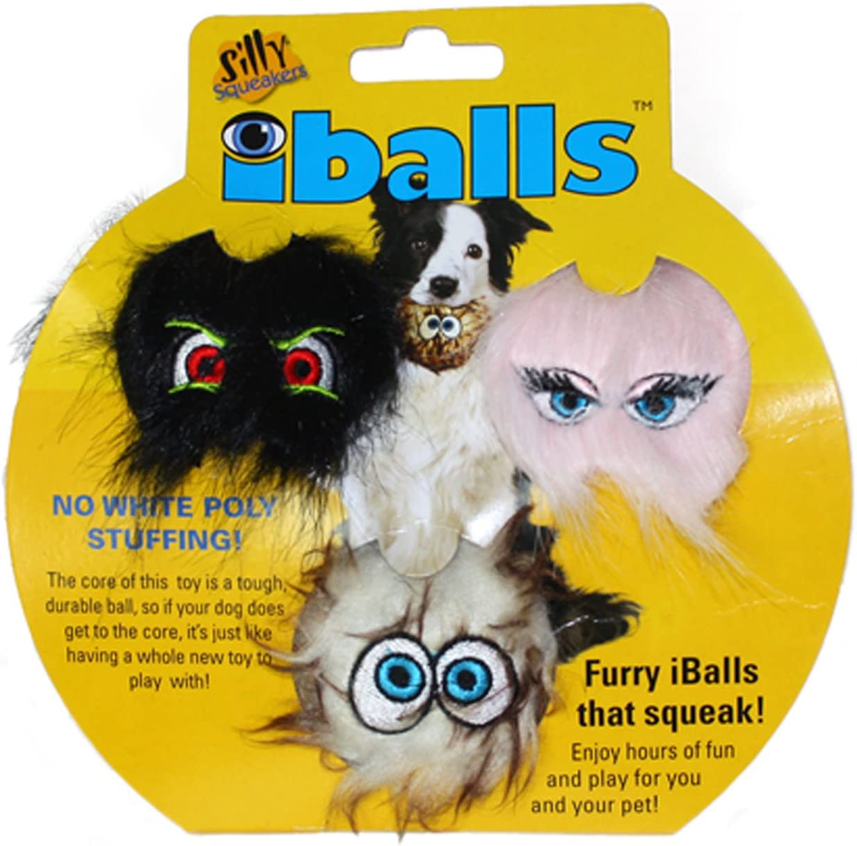 Silly Regular discount Squeakers– Ranking TOP2 iBall –Dog Faux Toy- Fur– Plasti