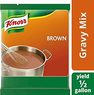 Knorr Professional Brown Gravy Mix Vegan, Gluten Free, No Artificial Flavors or Preservatives, No added MSG, Dairy Free,Colors from Natural Sources, 6.83 oz, Pack of 6