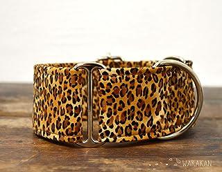 Collar Martingale Para Perro: Leopard, Hecho a Mano en España por Wakakán