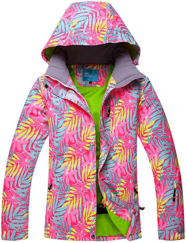 HOTIAN Ski Jacket Waterproof Women Snow Jaket Winter Ski Suits