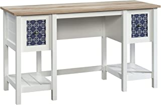 Sauder Cottage Road Desk, Soft White finish