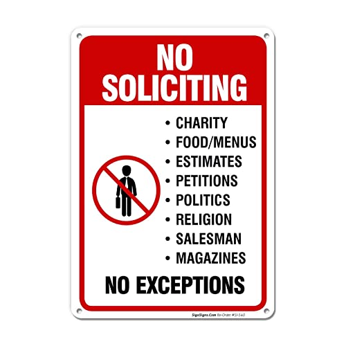 image regarding Printable No Soliciting Sign named No Soliciting Signs and symptoms for Properties: