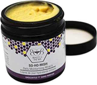 So Ho Mish 60 ml - 100% Natural with Royal Jelly - Anti-Aging, Moisturizer - Fragrance Free - Suitable for All Skin Types