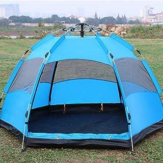 DorisAA camping tält enkel inställning 5-8 personer automatisk pop up omedelbar stort tält vattentät utomhus camping famil...