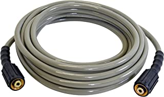"""SIMPSON Cleaning MorFlex 40224- 1/4""""x 25' 3200 PSI Cold Water Replacement/ Extension Hose"""