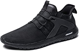 ONEMIX Slip-On Running Shoes Men Lightweight Cushioning Casual Outdoor Sneakers