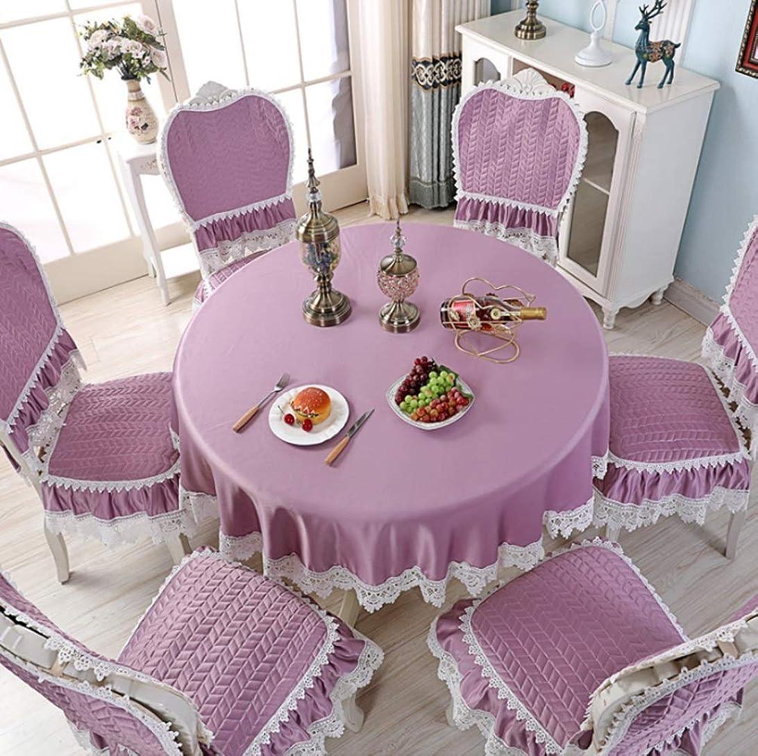 エッセンス処理意味テーブルクロスのシンプルなコットンテーブルクロスティーテーブルクロスラウンドテーブルクロスのテーブルクロスの布アート多目的な布の装飾ホームテーブルクロスは、ホームに適しています (Color : ピンク, サイズ : 150*200cm)