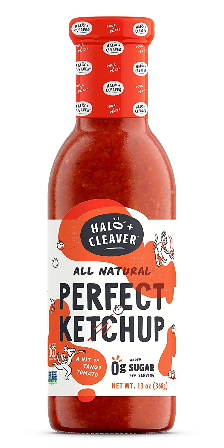Halo and Cleaver Perfect Ketchup Natural New Shipping Free Shipping All Whole30 Approved Finally resale start -