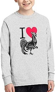 I Love Heart Cock Men Handsome Long Sleeve T-Shirt Classical Tshirt T Shirts