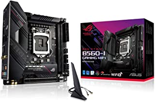 ASUSTek Intel B560 搭載 第10世代・11世代 CPU 対応 Socket 1200 対応 マザーボード ROG STRIX B560-I GAMING WIFI 【Mini-ITX】 【国内正規代理店】