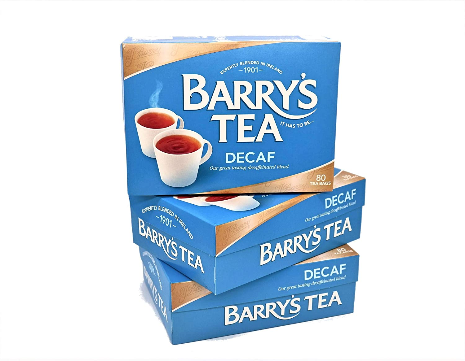 Barry's Tea Decaf Blend 67% OFF of fixed New life price 80 from Fresh 3 Pack Teabags