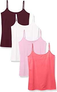 Amazon Essentials Women's 4-Pack Slim-Fit Camisole